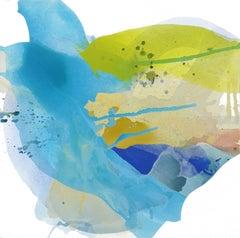 CASCADING BREEZE, Painting, Acrylic on Canvas