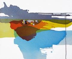 Lakeside - Late Summer I, Painting, Acrylic on Canvas