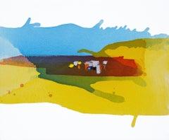 Lakeside - Late Summer II, Painting, Acrylic on Canvas