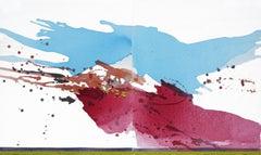 Summer Veil - Dusk, Painting, Acrylic on Canvas