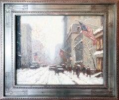 Snow Storm Arch Street Philadelphia