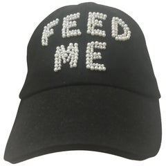Laurence and Chico Black Feed Me Hat / Cap