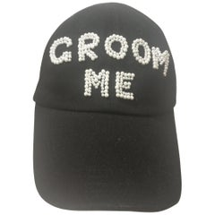 Laurence and Chico Black Groom Me Hat / Cap