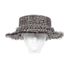 Laurence and Chico Grey Tweed Hat