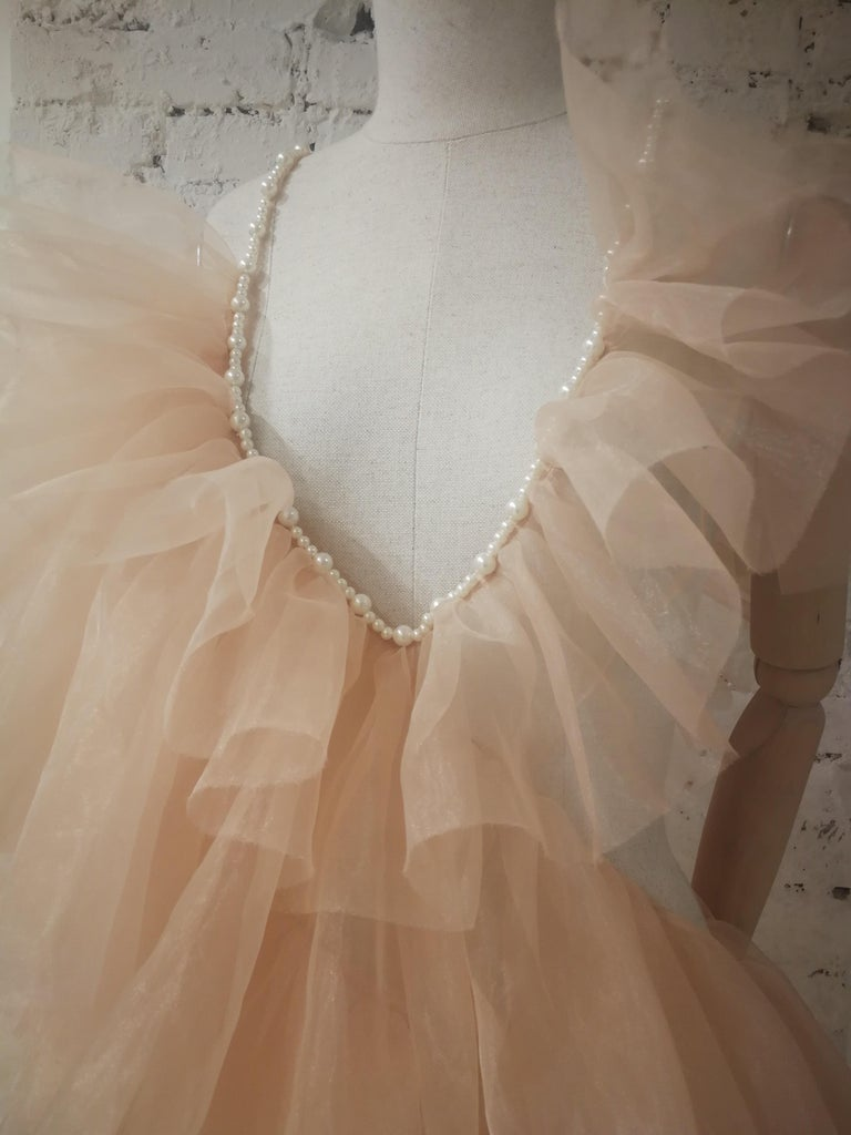 Laurence and Chico Tulle Dress For Sale 1