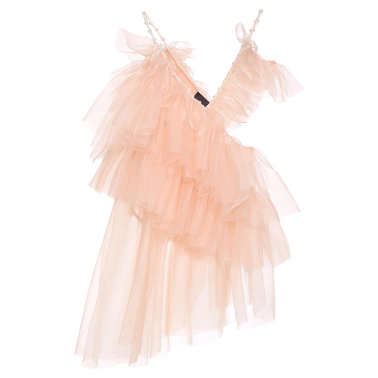 Laurence and Chico Tulle Dress For Sale