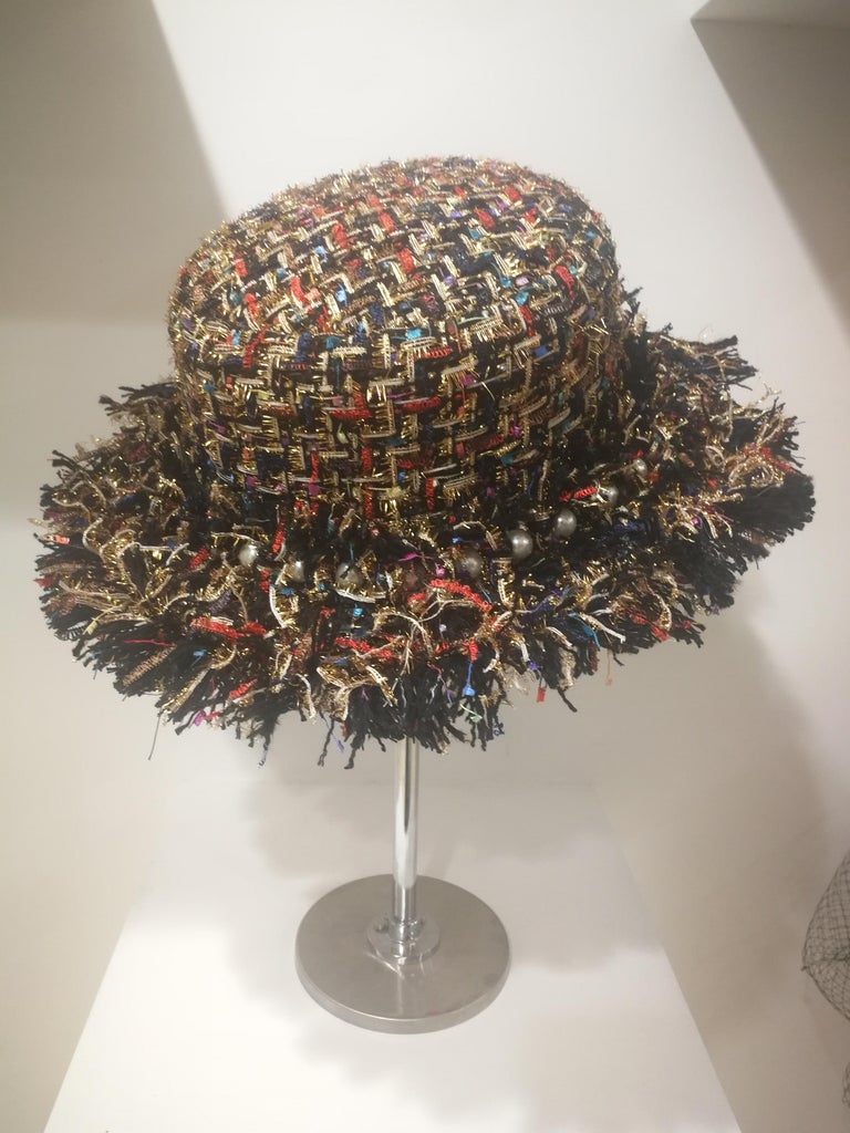Laurence and Chico Tweed Hat For Sale 1