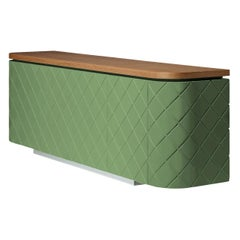 Laurent Contemporary Pale Green Sideboard by Luísa Peixoto