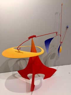 Pitch Hitter / Stabile/mobile steel and aluminum sculpture