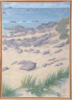 Coin de Plage a Keremma, Seascape with Dunes, Laurent Marcel Salinas
