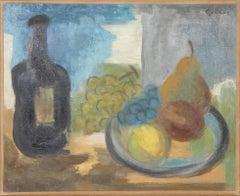 Le Flacon Noir, Oil Painting by Laurent Marcel Salinas
