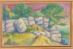 Rochers A La Cadiere D'Azur by Laurent Marcel Salinas