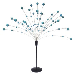 Laurids Lonborg for Scandia Design Blue Kinetic Ball Sculpture