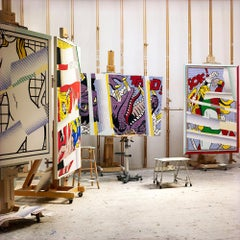 Four Reflections on Easels
