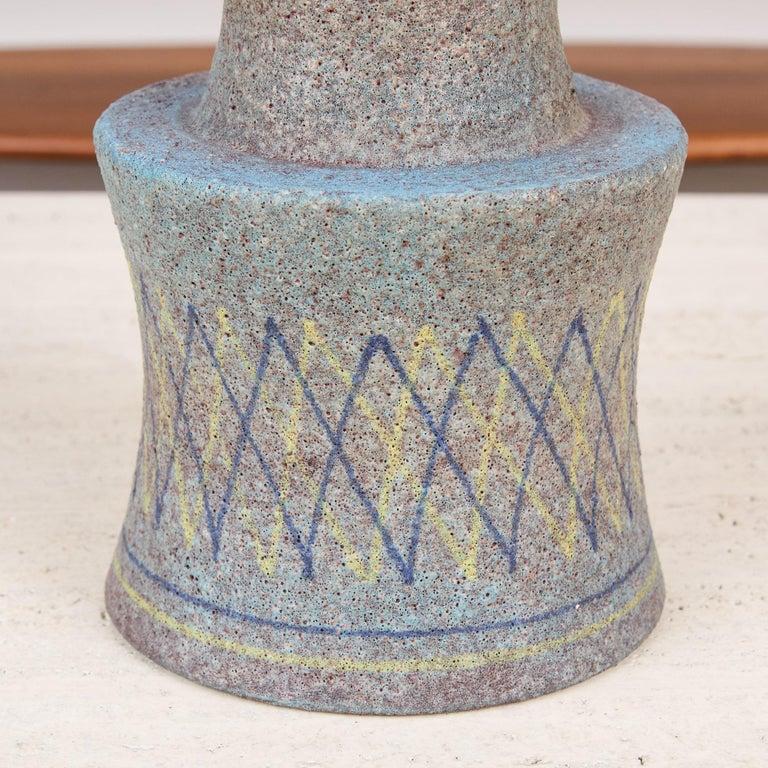 Lava Glaze Vessel by Aldo Londi for Bitossi For Sale 2