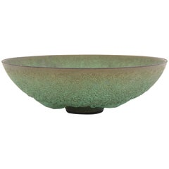 'Lava' Glazed Ceramic Bowl by James Lovera