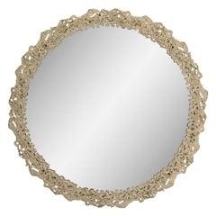 Lava Round Mirror