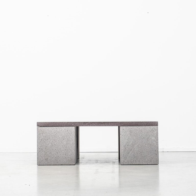 Modern Lava Stone Sculptor's Coffee Table Designed by Faye Toogood, UK For Sale