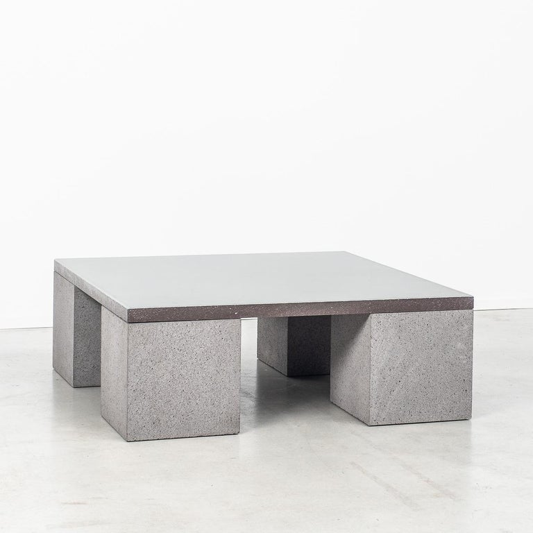 Glazed Lava Stone Sculptor's Coffee Table Designed by Faye Toogood, UK For Sale