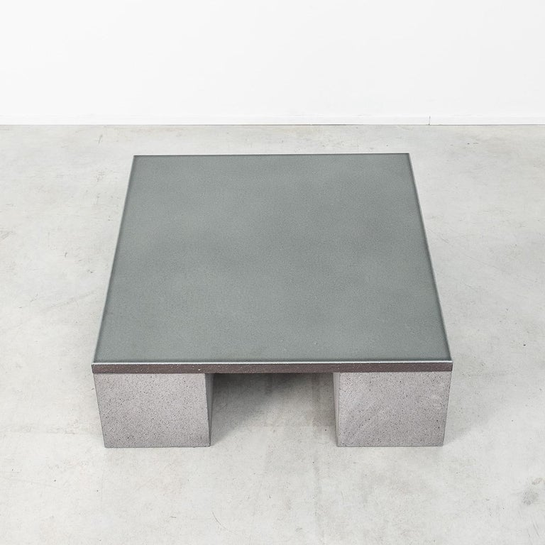 Contemporary Lava Stone Sculptor's Coffee Table Designed by Faye Toogood, UK For Sale