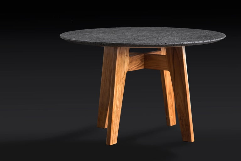 Lacquered Lava table medium For Sale