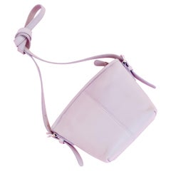 Lavender Leather Crossbody Bag By Coach, 1990s