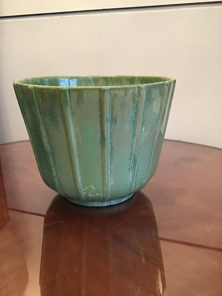 Lavenia Vase Holder Ceramic, 1930, Italy For Sale 4