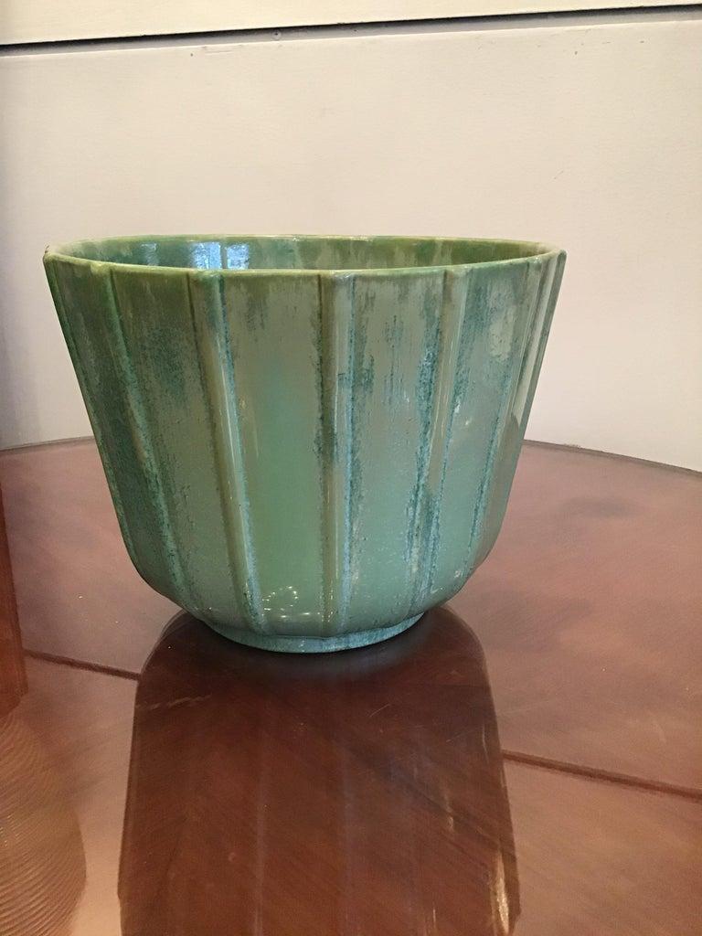 Lavenia Vase Holder Ceramic, 1930, Italy For Sale 5
