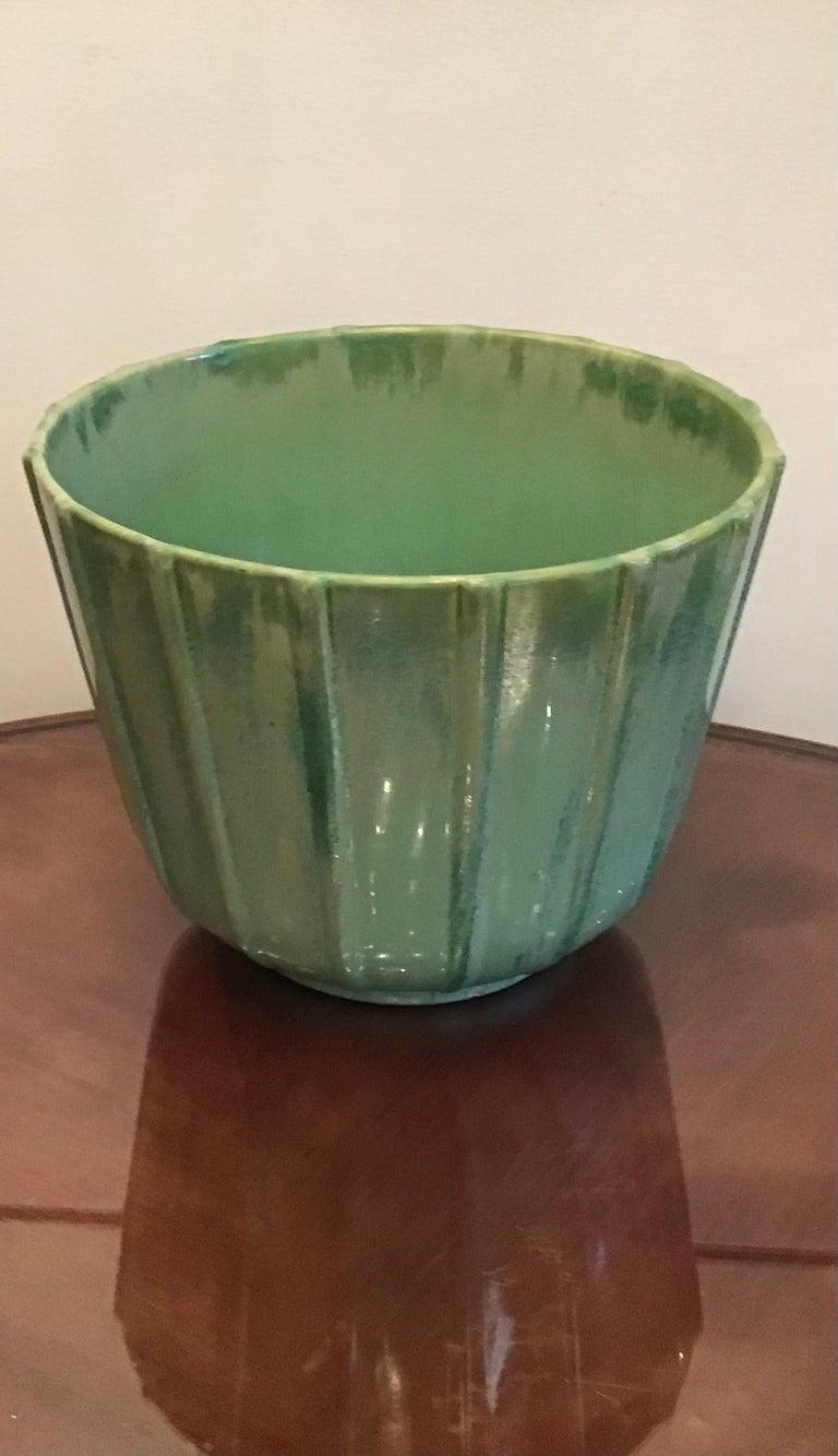 Mid-20th Century Lavenia Vase Holder Ceramic, 1930, Italy For Sale