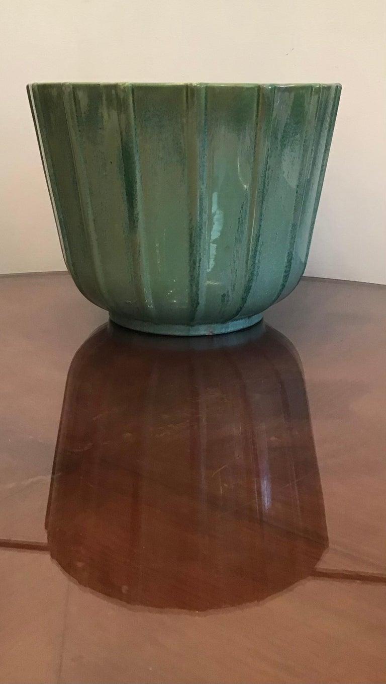Lavenia Vase Holder Ceramic, 1930, Italy For Sale 1