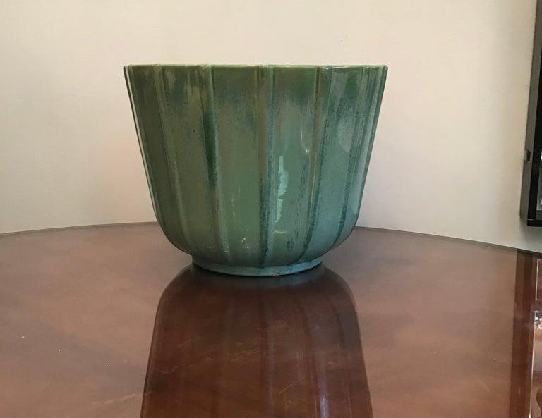Lavenia Vase Holder Ceramic, 1930, Italy For Sale 2