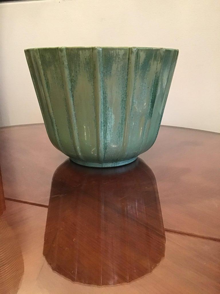 Lavenia Vase Holder Ceramic, 1930, Italy For Sale 3