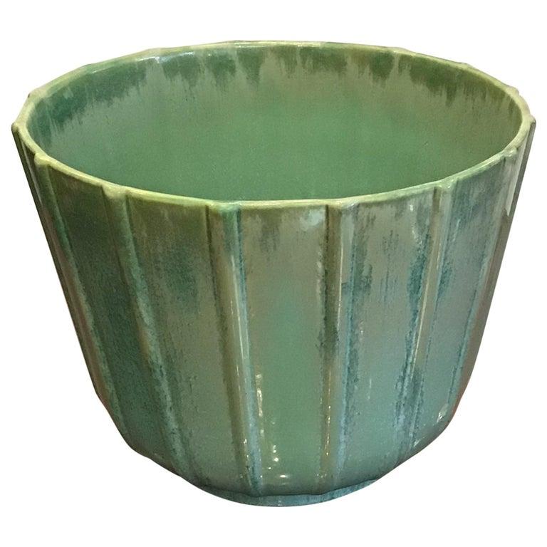 Lavenia Vase Holder Ceramic, 1930, Italy For Sale