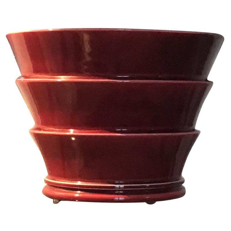 Laveno Cachepot 1930 Earthenware, Italy
