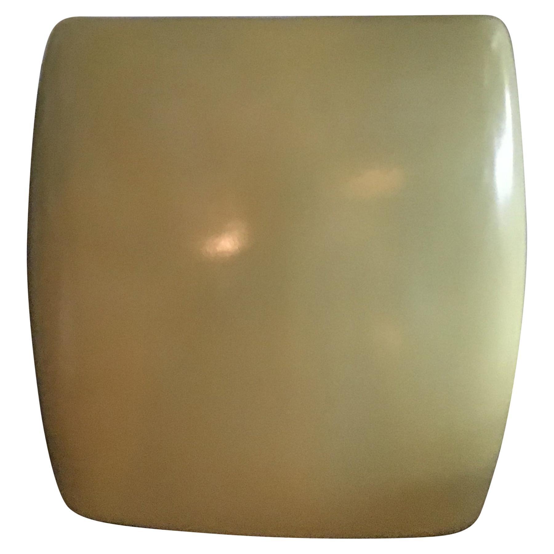 Laveno Guido Andlovitz 1935 Large Vase/Umbrella Stand Yellow Ceramic, Italy