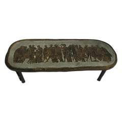 LaVerne Bronze Coffee Table