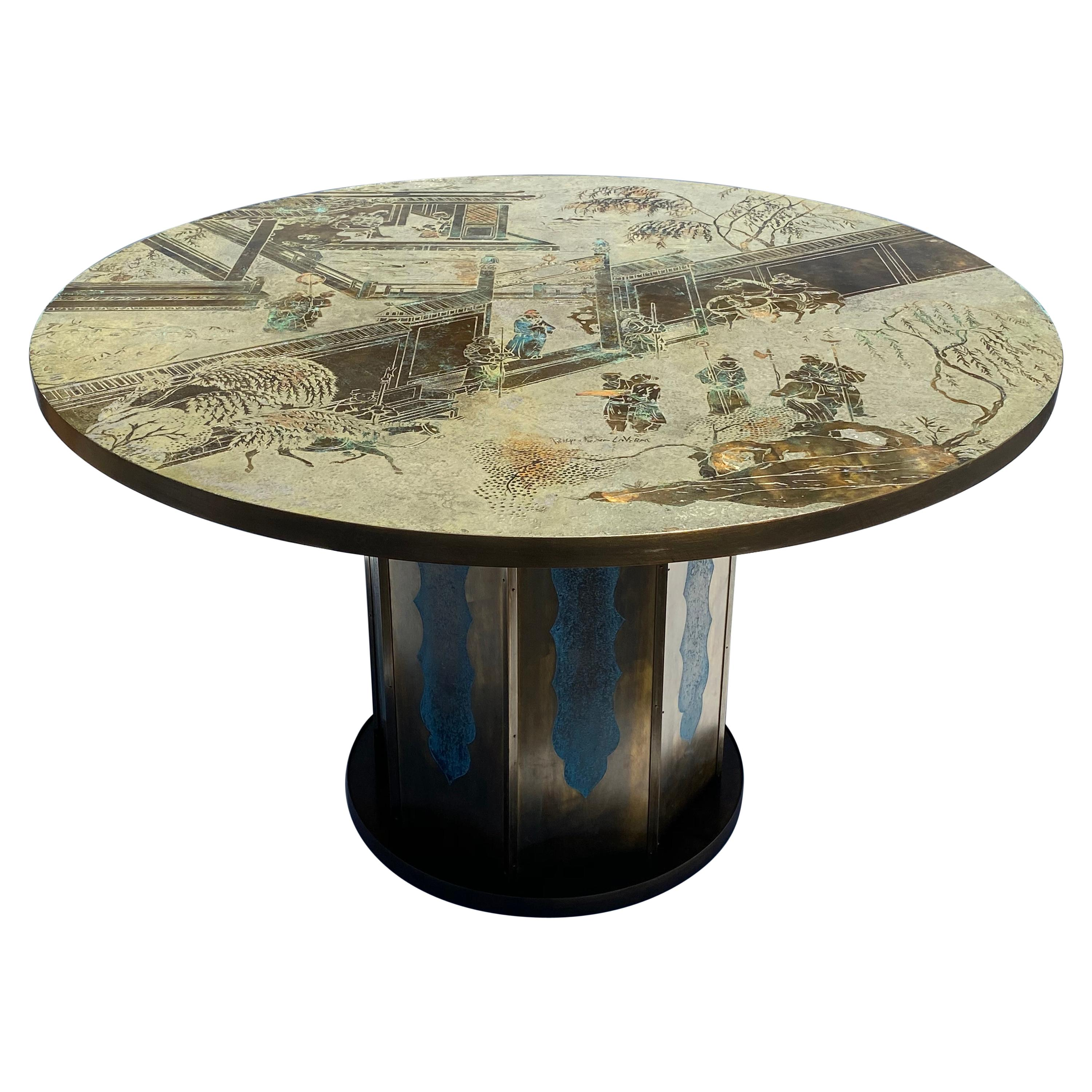 """LaVerne """"Chan"""" Dining Center or Game Table"""