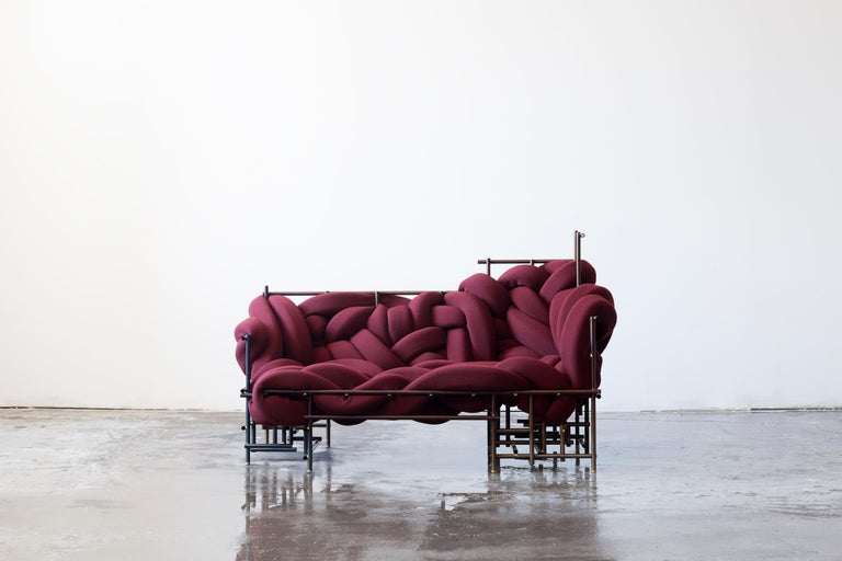 Organic Modern Lawless Sofa, Evan Fay For Sale