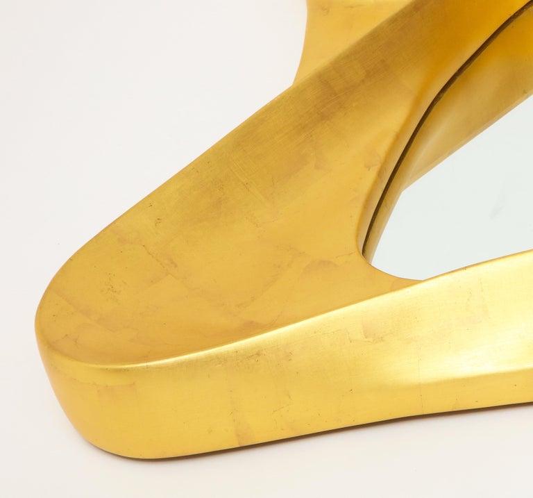 Lawrence De Martino 24-Karat Gold Leaf Mirror For Sale 6