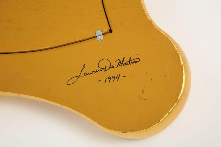 Lawrence De Martino 24-Karat Gold Leaf Mirror For Sale 8
