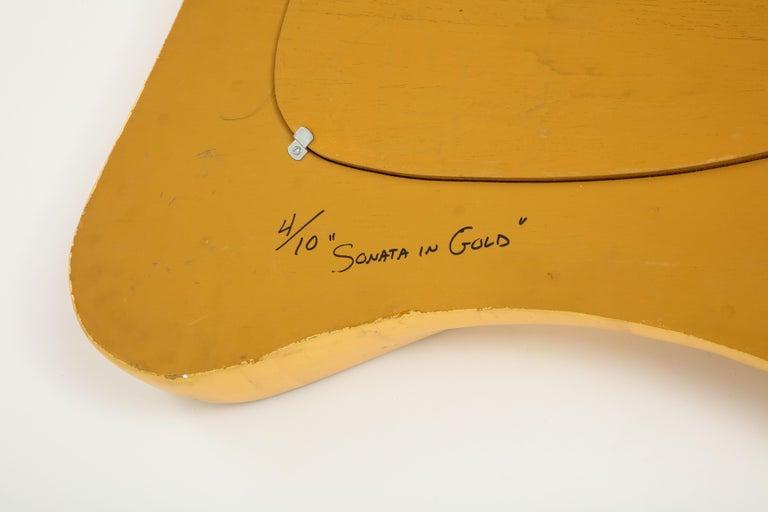Lawrence De Martino 24-Karat Gold Leaf Mirror For Sale 9