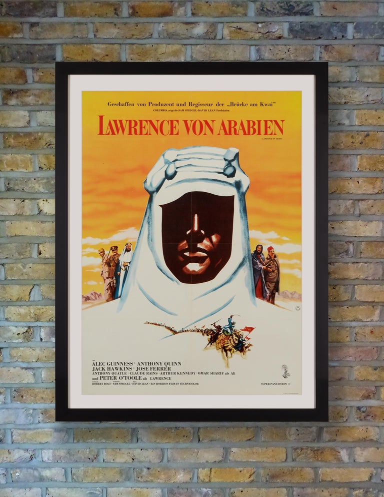 Based on Lawrence's autobiography 'The Seven Pillars of Wisdom,' David Lean's sweeping historical epic 'Lawrence of Arabia' followed the Arabian adventures of idealistic British army officer T.E. Lawrence in his mission to unite the Arab tribes in