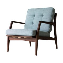 Lawrence Peabody Danish Lounge Chair for Craft Associates Furniture