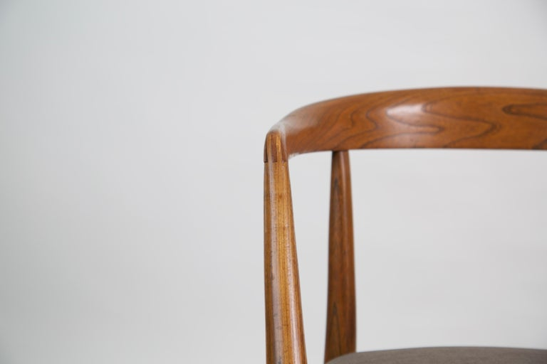 Lawrence Peabody for Richardson Nemschoff Solid Oak Armchairs, circa 1960s For Sale 6
