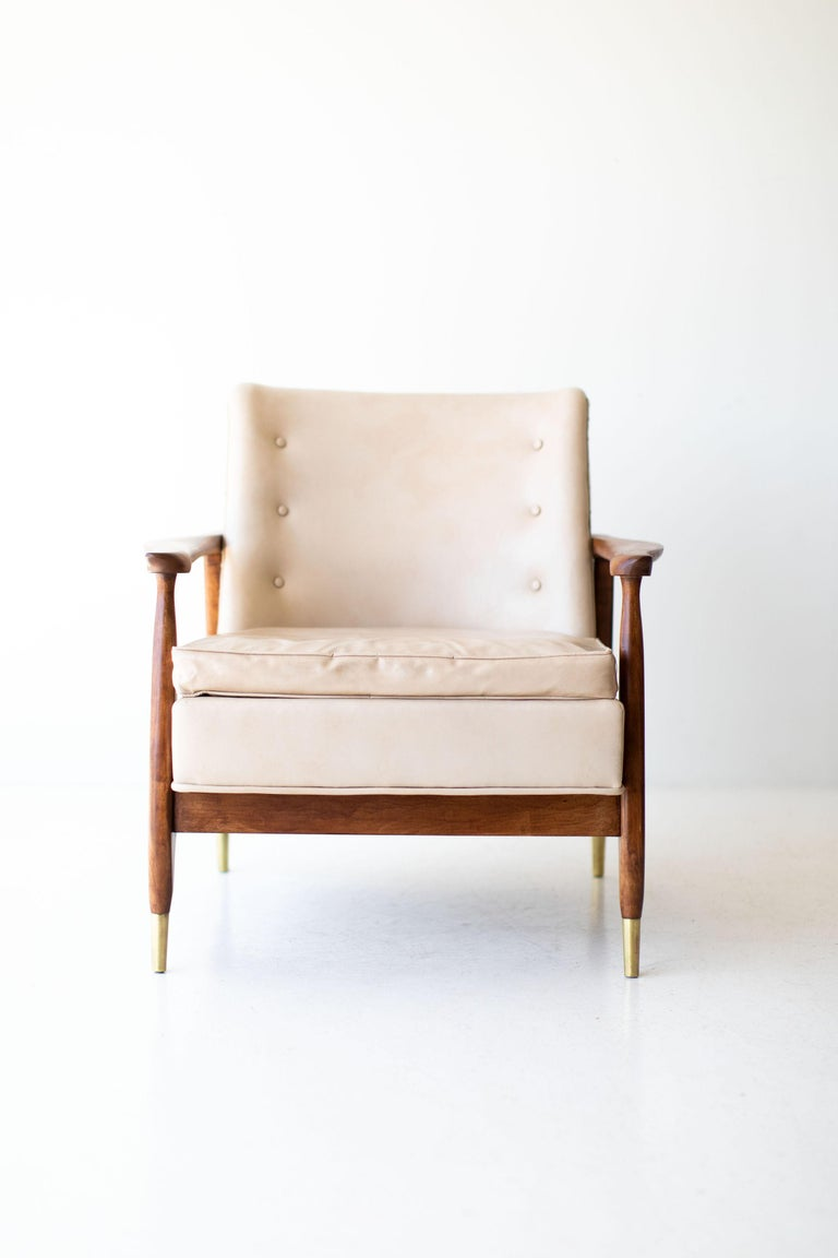 Mid-20th Century Lawrence Peabody Lounge Chair for Nemschoff For Sale
