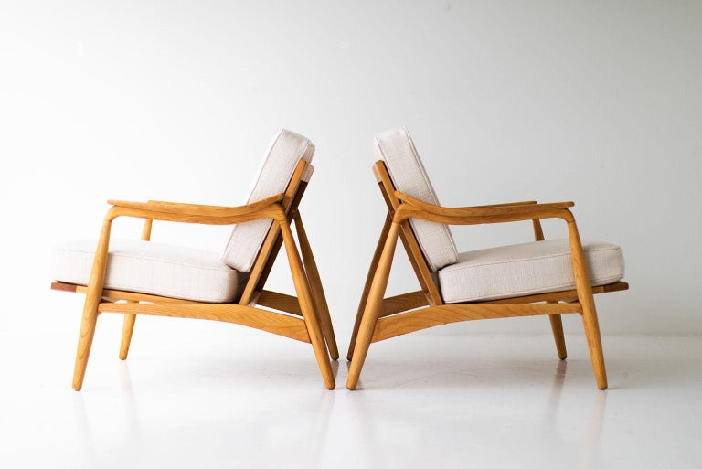 Lawrence Peabody Lounge Chairs for Richardson Nemschoff For Sale 3
