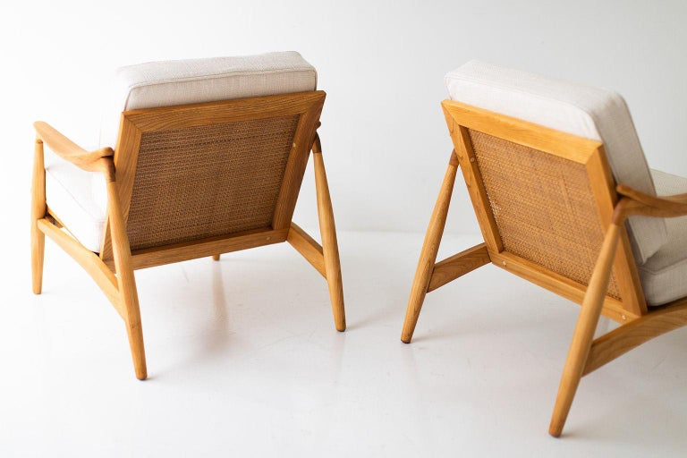 American Lawrence Peabody Lounge Chairs for Richardson Nemschoff For Sale