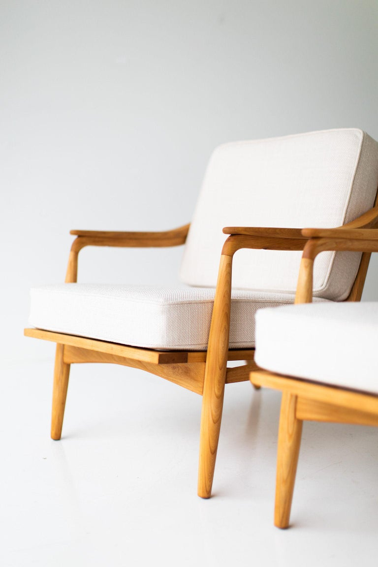 Lawrence Peabody Lounge Chairs for Richardson Nemschoff For Sale 2