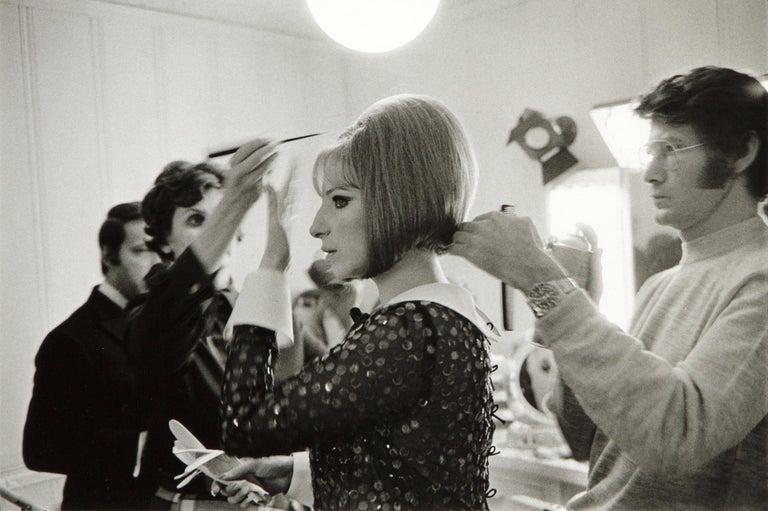 Lawrence Schiller Black and White Photograph - Barbra Streisand