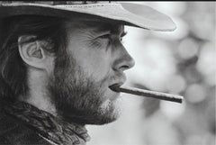 Clint Eastwood with Cigar, Durango, Mexico